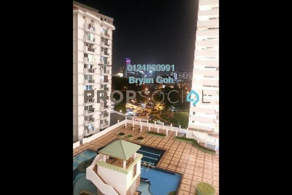 For Rent Condominium at Halaman Kristal, Green Lane Freehold Semi Furnished 3R/2B 1.2k