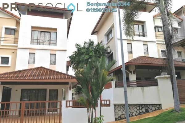 For Rent Terrace at Sunway SPK Damansara, Kepong Freehold Semi Furnished 5R/5B 4k