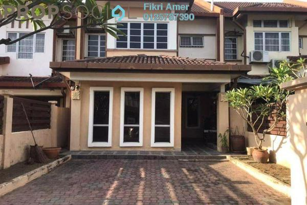 For Sale Terrace at Section 10, Putra Heights Freehold Semi Furnished 5R/3B 710k