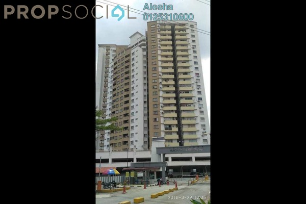 For Sale Condominium at Magna Ville, Selayang Freehold Unfurnished 0R/0B 350k