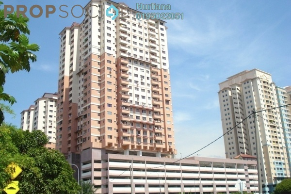 For Rent Condominium at Idaman Sutera, Setapak Freehold Semi Furnished 3R/2B 700translationmissing:en.pricing.unit