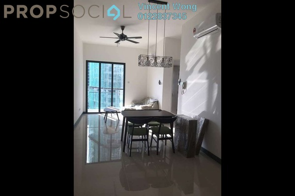 For Rent Serviced Residence at South View, Bangsar South Freehold Fully Furnished 2R/2B 2.3k