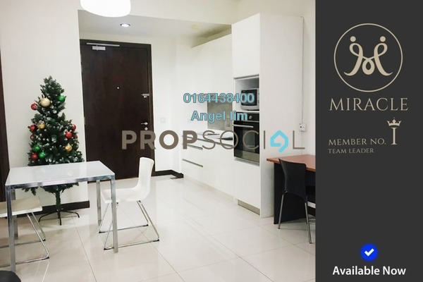 For Rent Condominium at Hampshire Residences, KLCC Freehold Fully Furnished 1R/1B 2.71k