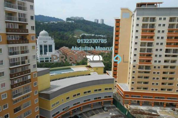 For Rent Apartment at Residensi Bistaria, Ukay Freehold Semi Furnished 3R/2B 1k