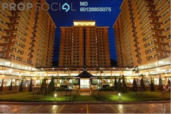 For Rent Condominium at Platinum Hill PV6, Setapak Freehold Fully Furnished 4R/2B 1.8k