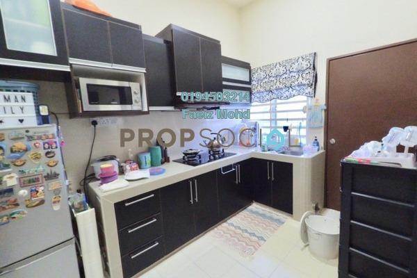 For Sale Townhouse at Taman Seri Alam, Sungai Buloh Leasehold Semi Furnished 3R/2B 330k