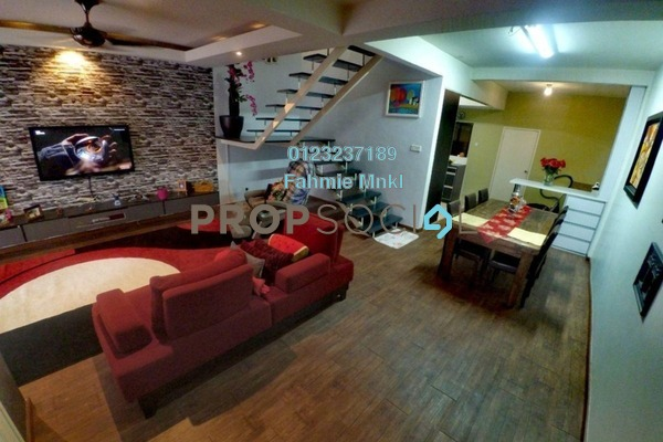 For Sale Terrace at Taman Puncak Jalil, Bandar Putra Permai Leasehold Semi Furnished 4R/3B 620k