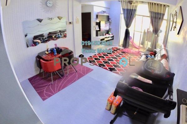 For Sale Apartment at Casmaria Apartment, Batu Caves Freehold Semi Furnished 3R/2B 280k