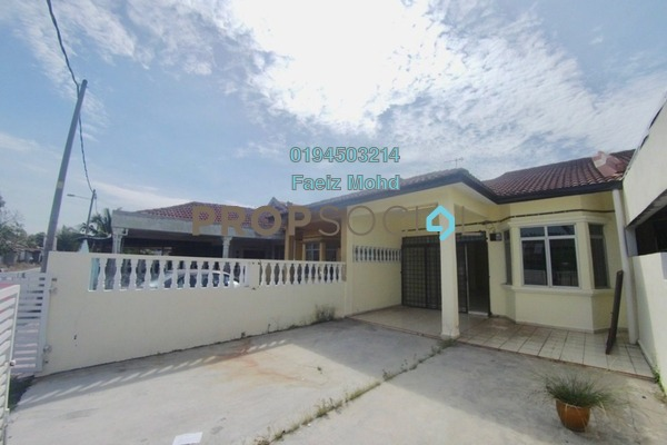For Sale Terrace at Taman Meru Jaya, Meru Freehold Unfurnished 3R/2B 330k