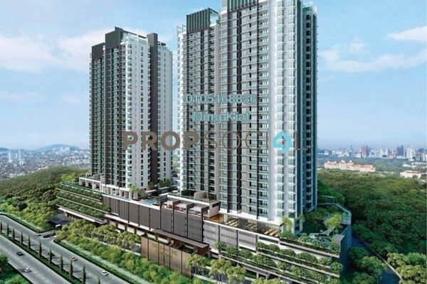 For Sale Condominium at Kaleidoscope, Setiawangsa Freehold Semi Furnished 3R/2B 608k