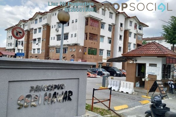 For Sale Apartment at Seri Mawar Apartment, Bandar Seri Putra Freehold Unfurnished 3R/2B 190k