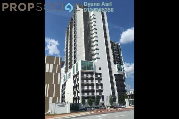 For Rent Condominium at Temasya 8, Temasya Glenmarie Freehold Semi Furnished 2R/1B 2.5k