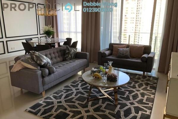 For Rent Condominium at Pavilion Hilltop, Mont Kiara Freehold Fully Furnished 3R/3B 6.5k