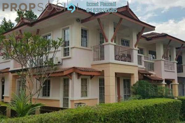 For Sale Terrace at Precinct 9, Putrajaya Freehold Semi Furnished 4R/3B 760k