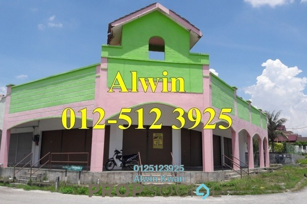 For Rent Shop at Panorama Lapangan Perdana, Ipoh Freehold Unfurnished 0R/2B 1.2k
