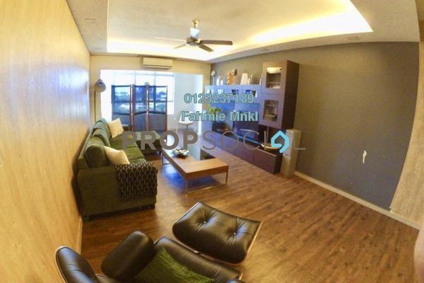 For Sale Serviced Residence at Mutiara Anggerik, Shah Alam Leasehold Semi Furnished 4R/2B 510k