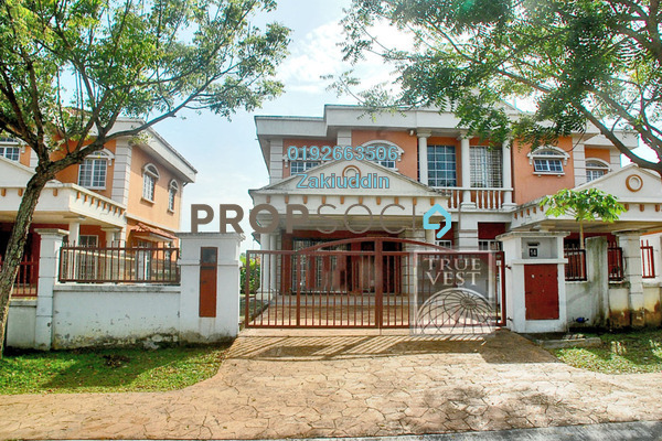 For Sale Semi-Detached at Bukit Bandaraya, Shah Alam Freehold Unfurnished 4R/3B 850k