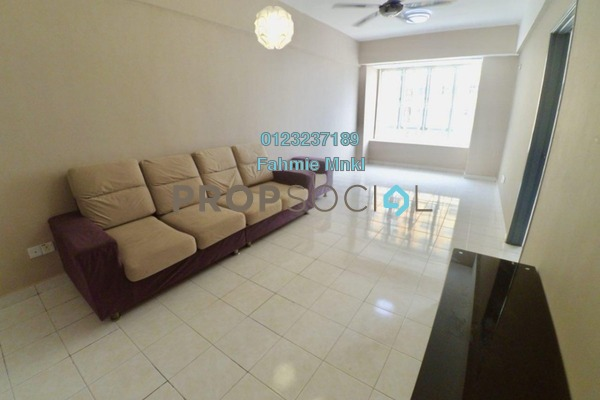 For Sale Condominium at Palm Garden Apartment, Klang Freehold Unfurnished 3R/2B 290k
