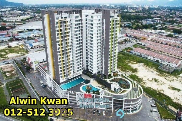 For Sale Condominium at D'Festivo Residences, Ipoh Freehold Unfurnished 3R/2B 615k