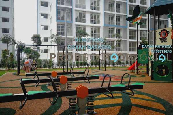 For Rent Apartment at MasReca N19eteen, Cyberjaya Freehold Unfurnished 3R/2B 1.1k