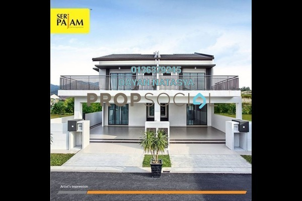 For Sale Terrace at Erora, Nilai Freehold Semi Furnished 4R/4B 590k