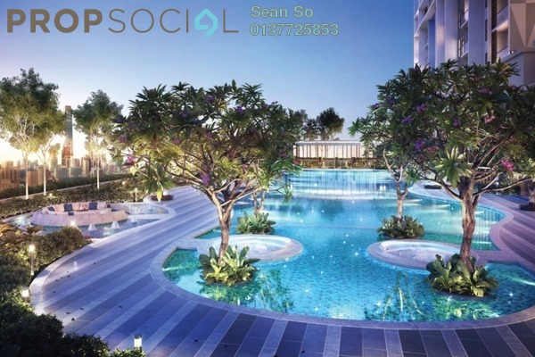 For Sale Serviced Residence at Trion, Kuala Lumpur Freehold Semi Furnished 2R/1B 471k