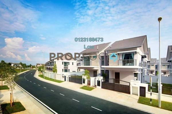 For Sale Semi-Detached at Periwinkle, Bandar Rimbayu Leasehold Unfurnished 4R/4B 823k