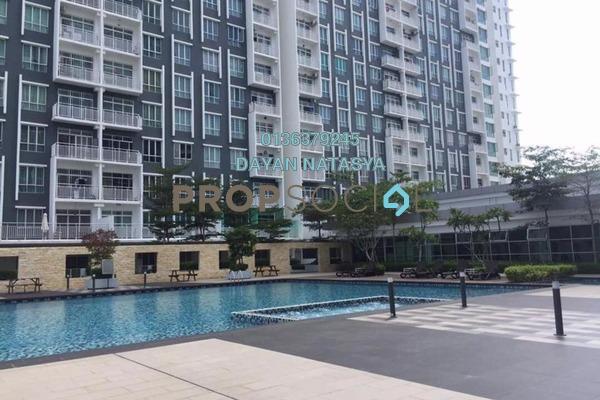 For Rent Condominium at BSP Skypark, Bandar Saujana Putra Freehold Semi Furnished 3R/2B 1.45k