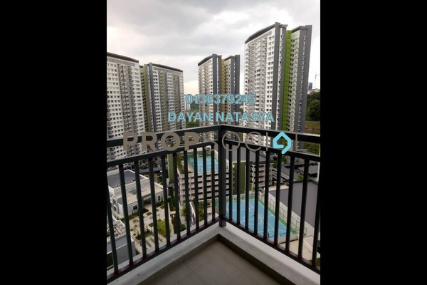 For Rent Apartment at PPA1M Pudina, Putrajaya Freehold Semi Furnished 3R/2B 1.4k