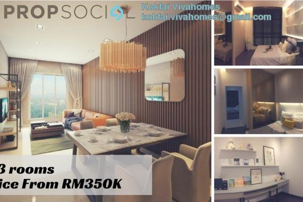 For Sale SoHo/Studio at Plaza Kelana Jaya, Kelana Jaya Freehold Unfurnished 2R/1B 350k