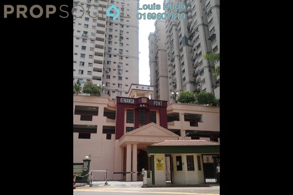 For Sale Condominium at Kenanga Point, Pudu Freehold Semi Furnished 3R/2B 390k