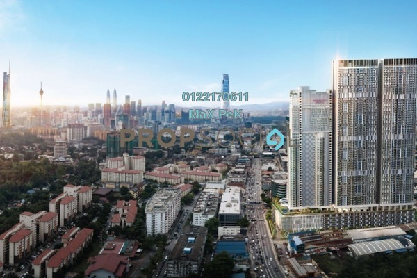 For Sale Condominium at Trion, Kuala Lumpur Freehold Semi Furnished 2R/1B 470k
