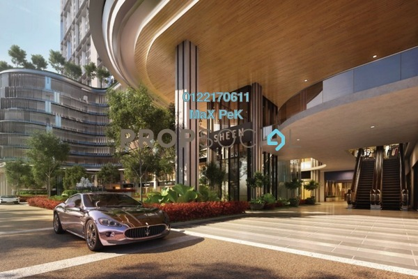 For Sale Condominium at Trion, Kuala Lumpur Freehold Semi Furnished 2R/2B 548k