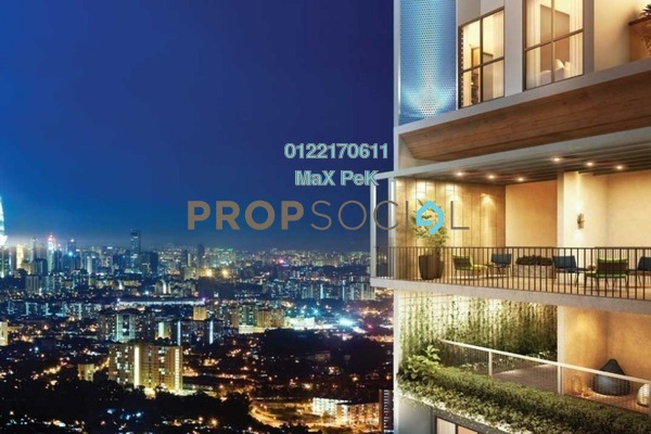 For Sale Condominium at Trion, Kuala Lumpur Freehold Semi Furnished 3R/3B 702k