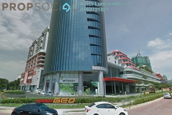 For Rent Office at Sunway GEO Retail, Bandar Sunway Freehold Semi Furnished 0R/0B 2.1k