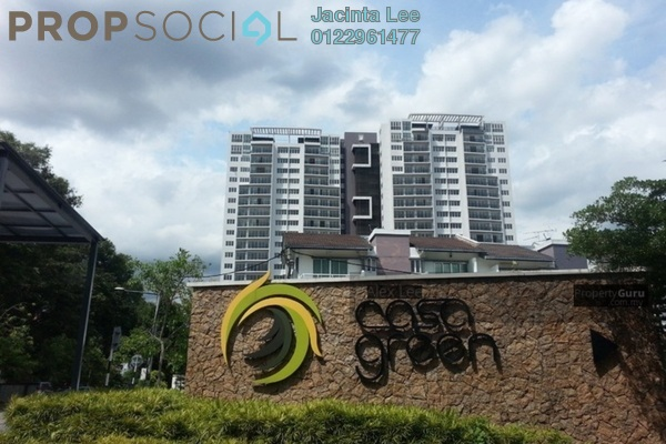 For Sale Condominium at Casa Green, Cheras South Freehold Unfurnished 4R/4B 535k