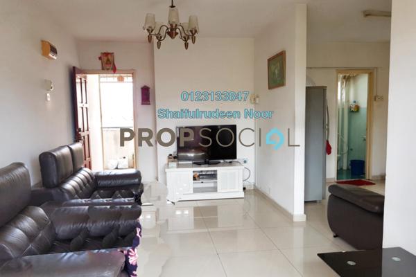 For Sale Apartment at Taman Sri Rampai, Setapak Freehold Semi Furnished 3R/2B 295k