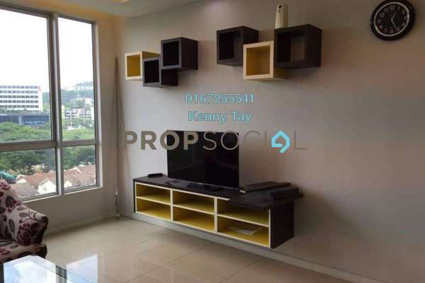 For Rent Condominium at Menjalara 18 Residences, Bandar Menjalara Freehold Fully Furnished 3R/3B 2.2k