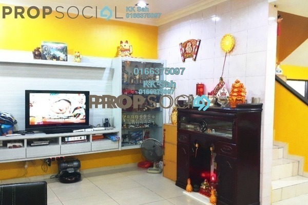 For Sale Link at Taman Sentosa, Klang Freehold Fully Furnished 4R/3B 416k