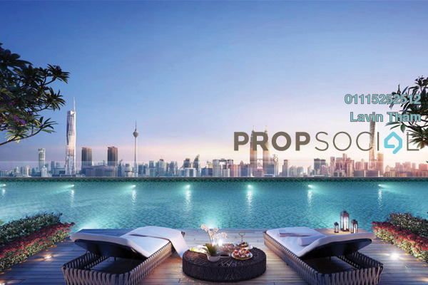 For Sale Serviced Residence at Trion, Kuala Lumpur Freehold Semi Furnished 2R/2B 547k