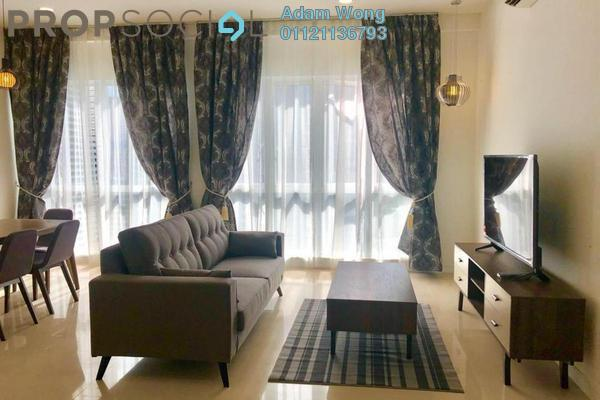 For Rent Condominium at Pavilion Hilltop, Mont Kiara Freehold Fully Furnished 3R/2B 4.5k