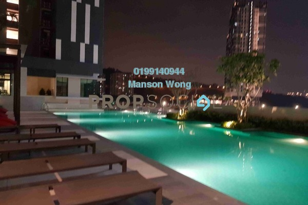 For Rent Condominium at CitiZen, Old Klang Road Freehold Semi Furnished 2R/2B 1.5k