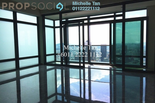 For Rent Serviced Residence at Four Seasons Place, KLCC Freehold Semi Furnished 3R/4B 24.5k
