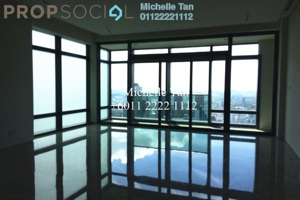 For Sale Serviced Residence at Four Seasons Place, KLCC Freehold Semi Furnished 3R/4B 7.73m
