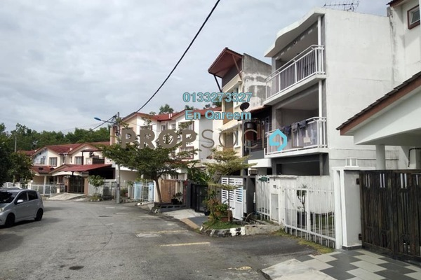 For Sale Terrace at Taman Bukit Permata, Batu Caves Freehold Unfurnished 0R/0B 579k