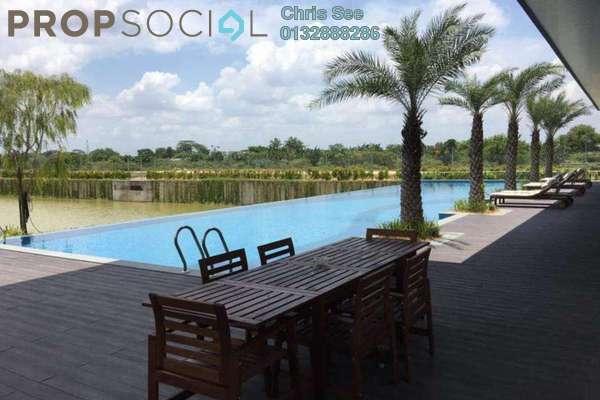 For Sale Bungalow at Long Branch Residences @ HomeTree, Kota Kemuning Freehold Semi Furnished 5R/7B 2.88m