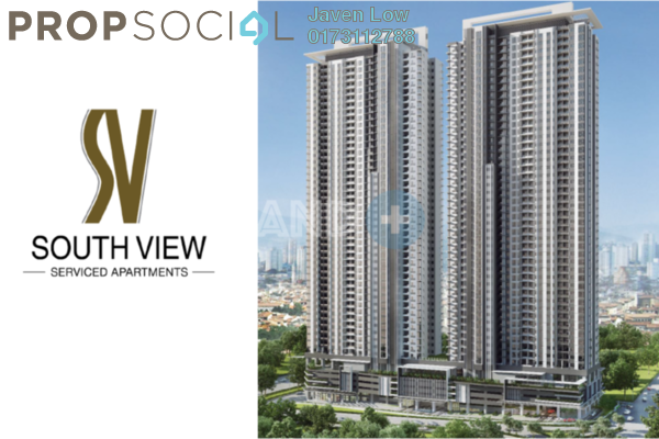 For Sale Condominium at South View, Bangsar South Freehold Unfurnished 3R/3B 750k