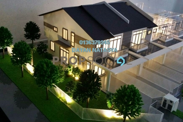 For Sale Townhouse at Alam Mewah, Shah Alam Freehold Unfurnished 3R/2B 391k