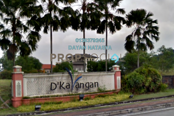 For Sale Land at D'Kayangan, Shah Alam Freehold Unfurnished 0R/0B 1.15m