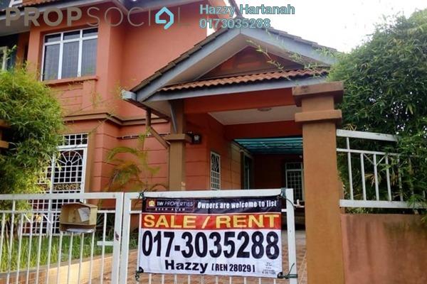 For Sale Semi-Detached at Bandar Puncak Alam, Kuala Selangor Leasehold Semi Furnished 4R/3B 580k